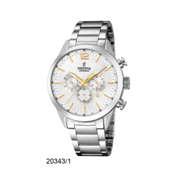 FESTINA F20343-1 Timeless Chrono