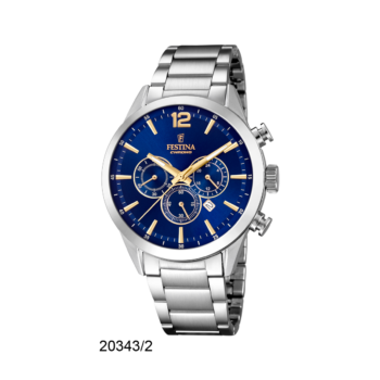 FESTINA F20343-2 Timeless Chrono