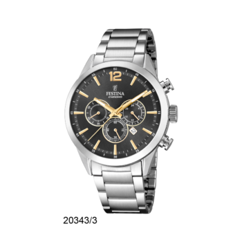 FESTINA F20343-3 Timeless Chrono