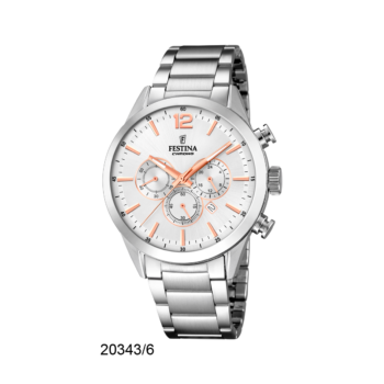 FESTINA F20343-6 Timeless Chrono