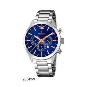 FESTINA F20343-9 Timeless Chrono