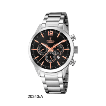 FESTINA F20343-A Timeless Chrono
