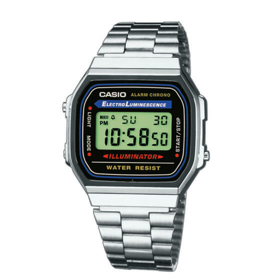 CASIO  A168WA-1YES